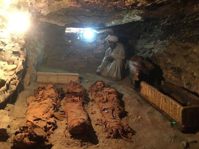 Tomb Containing 50 Mummies Uncovered in Egypt