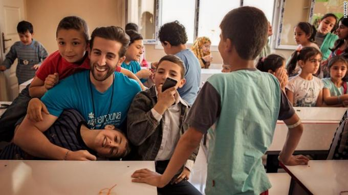 How his Grandmother's Hummus Recipe is Providing Relief to Refugee Children