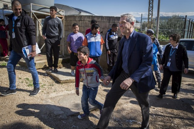 UN High Commissioner for Refugees Calls for Continued Support for Lebanon