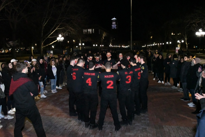 First Arab Fraternity on Campus Hosts Reveal Show