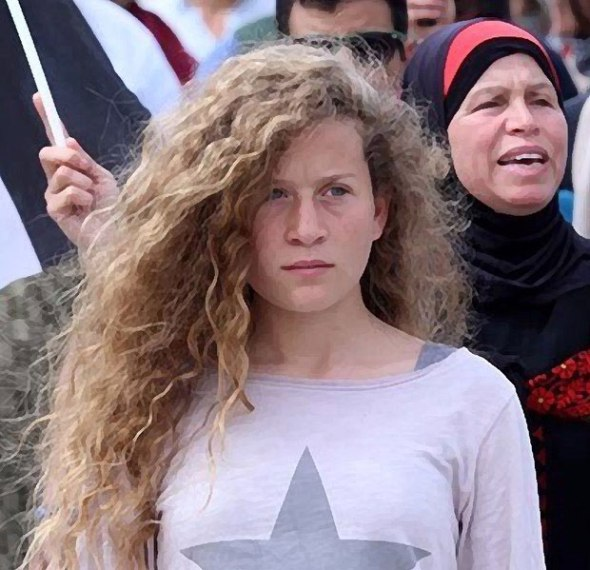 Ahed Tamimi's Teen Brother Arrested by Israeli Soldiers, Father Says