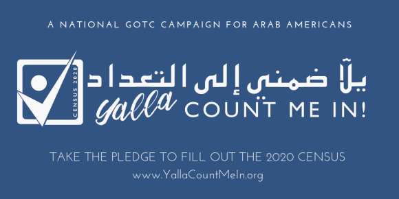 "On National Census Day of Action, AAI Launches ""Yalla Count Me In"""