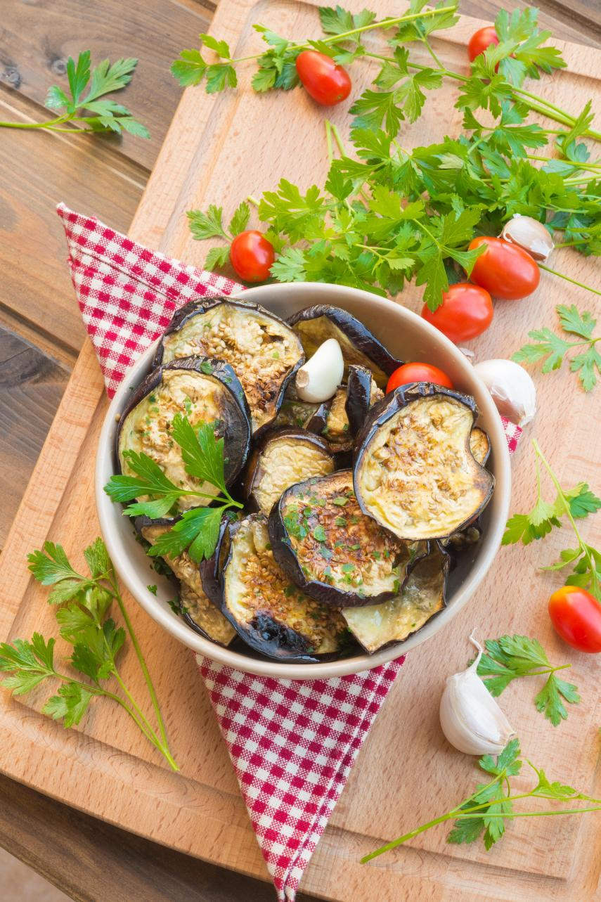 The Perfect Roasted--Grilled Eggplant