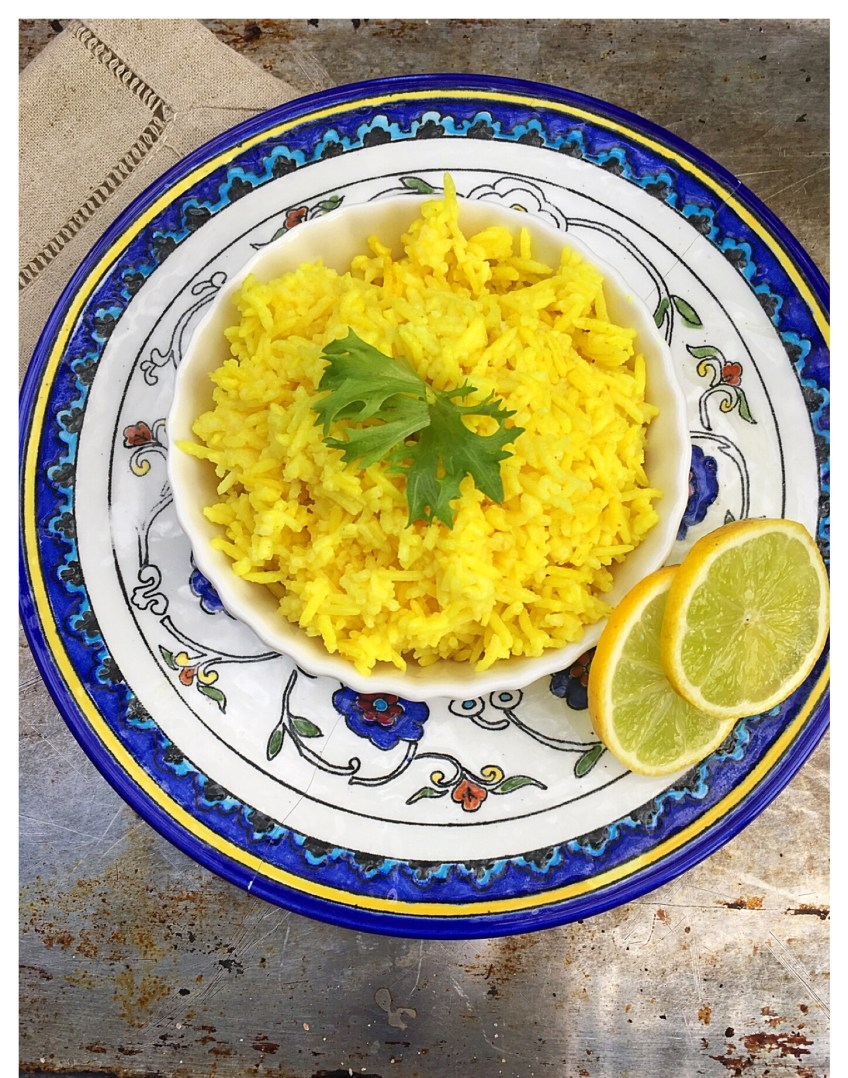Garlic Turmeric Rice