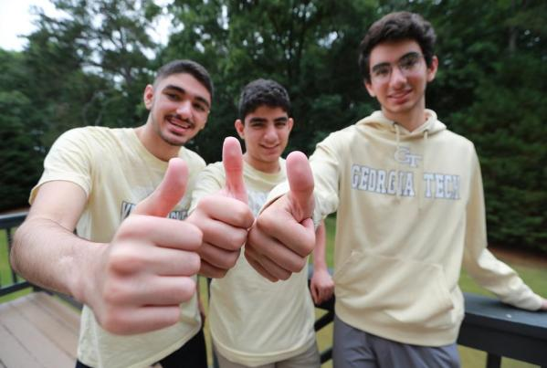 Good Things Come in Threes – Q & A with the Kashlan Triplets