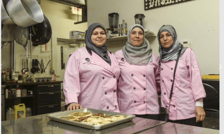 Syrian Refugees in Tampa Combine their Cooking Skills to Become Financially Self-Sufficient