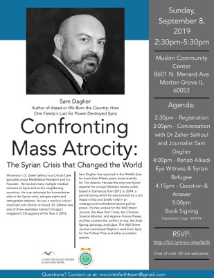 Confronting Atrocity: The Changed World of Syria