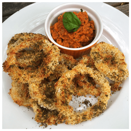 "When Za'atar Walked into Onion Rings: ""Zonion Rings"""