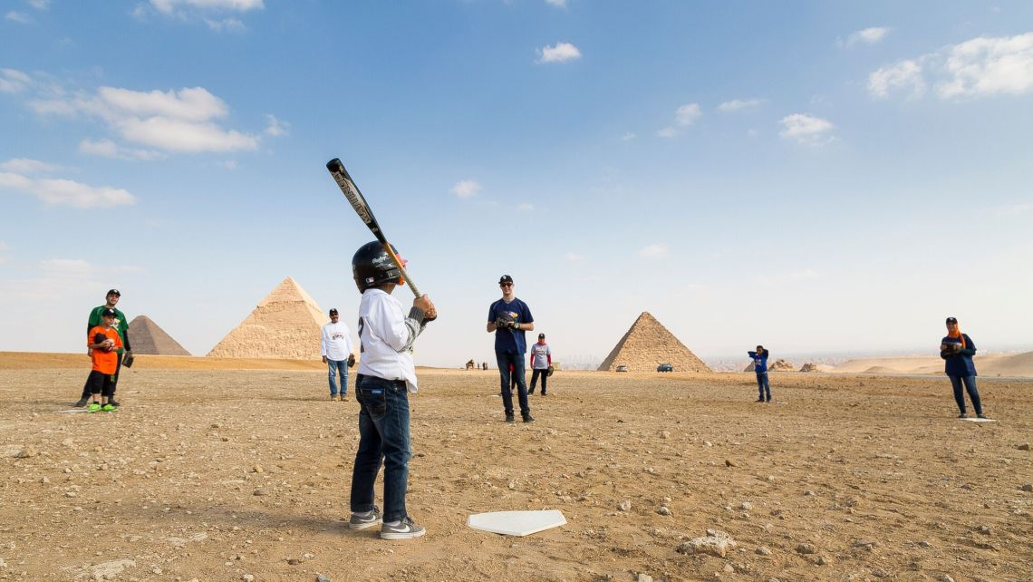 Bringing people and cultures together.... Why? 'Because Baseball'