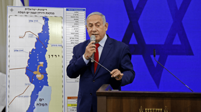 Netanyahu Threatens Annexation of the Jordan Valley as a Ploy in His Reelection