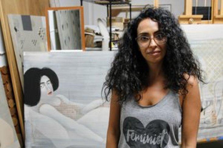 Iraqi American Artist Hayv Kahraman Is 'Building An Army Of Fierce Women'
