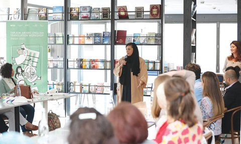 Foreigners Learn Arabic At Sharjah Wbc Workshop