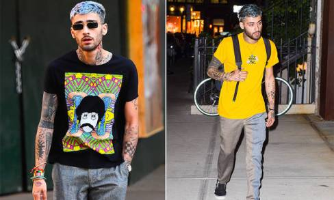 Zayn Malik has Tatted Himself with Arabic Ink Dedicated to His Sisters, Doniya, Waliyha and Safaa, but What Do They Say?