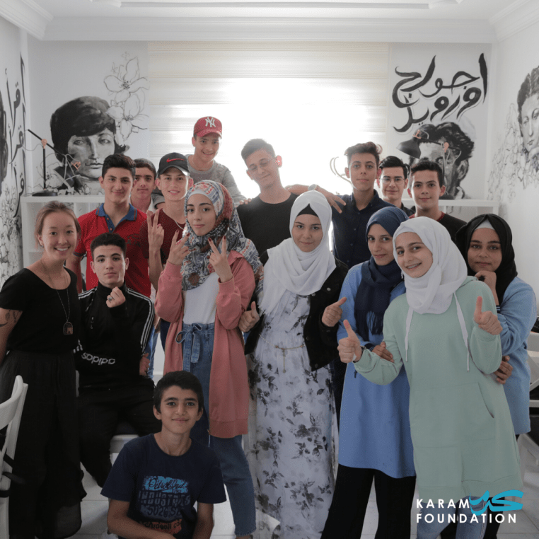 Karam Foundation is Dedicated to Helping Syrian Refugees Help Themselves