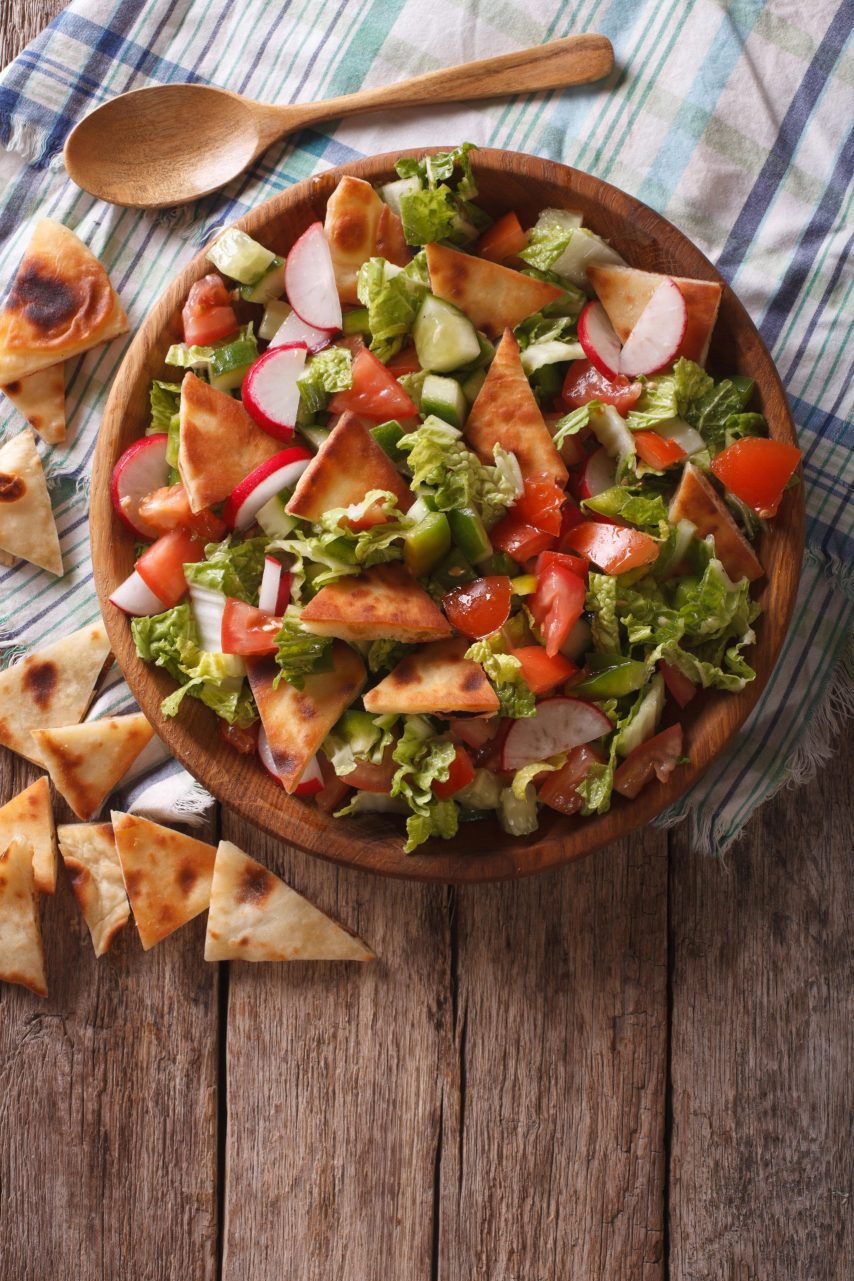 Fattoush: There's no Better way to Celebrate the Summer!