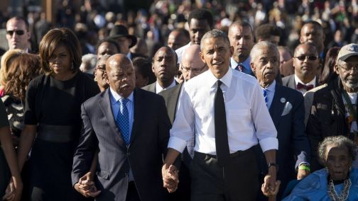 Rep. John Lewis, Civil Rights Giant, and issues of Palestinian human rights and self-determination