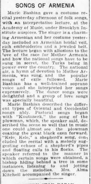 Greater Syrian Diaspora at 78RPM: Mme. Marie