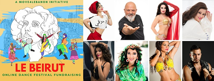 Le Beyrouth, online dance fundraiser