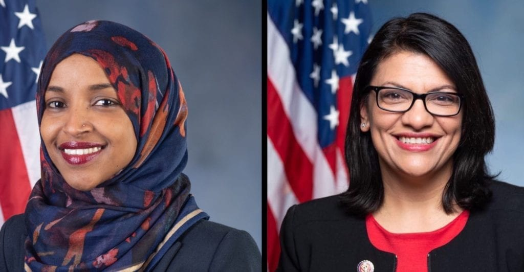 Arab American Congresswomen combatting Excesses of Power and Wealth – the U.S. President and Amazon's Bezos