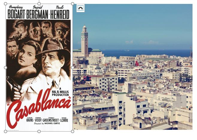 Casablanca: Similarities and Differences Between the City and the Movie
