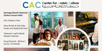 CAC Online Concert Featuring Arab American Artists