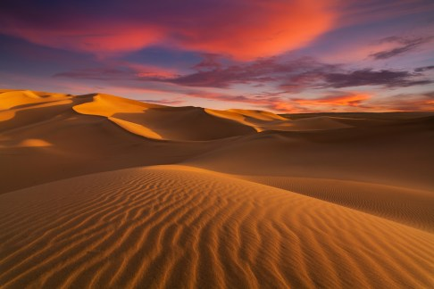 Travelling to the Threshold of the Sahara