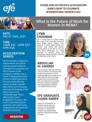 What is the Future of Work for Women in MENA?