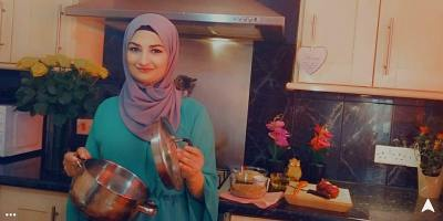 Vegetarian Syrian cookery class with Amani