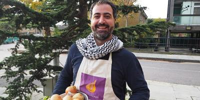 Vegetarian Lebanese cookery class with Ahmad