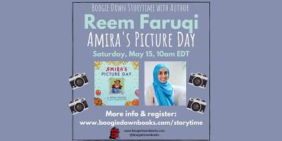 Boogie Down Storytime with Author Reem Faruqi (May 15)