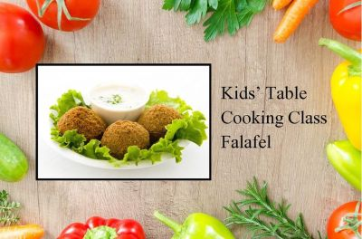 Kids' Table Cooking Class: Falafel