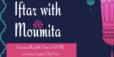 Community Iftar with Moumita for City Council