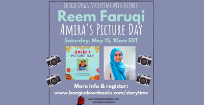Boogie Down Storytime with Author Reem Faruqi (May 15, online only)