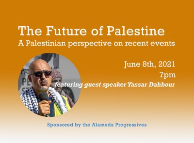 Don't Miss This! Symposium: The Future of Palestine: A Palestinian perspective on recent events