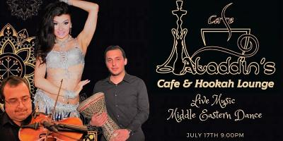 Live Music & Belly Dance at Aladdins Cafe