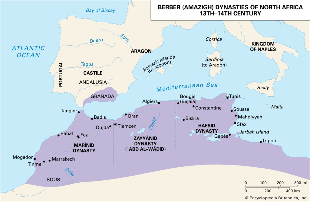 Islamic Dynasties of North Africa- Almoravids and Almohads