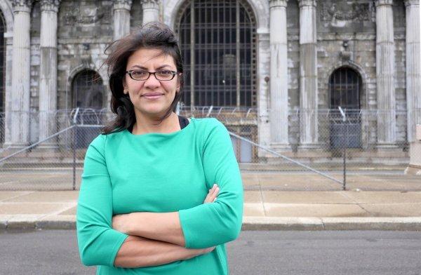 Rashida Tlaib seeks Conyers' seat, would be first Muslim ...