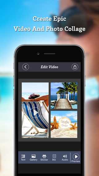 تطبيق VidArt - قم بدمج الصور والفيديو بطريقة عرض رائعة