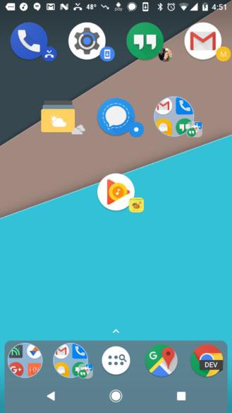 تطبيق Nova Launcher - إضافة مزايا جديدة في النسخة التجريبية