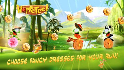 لعبة Hoppetee المميزة مع الكثير من المراحل