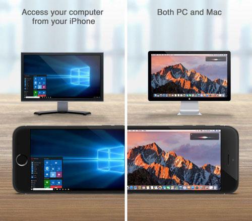 تطبيق للتحكم في حاسوبك من خلال الأيفون والآيباد