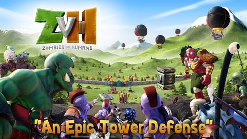 لعبة ZvH الزومبي ضد البشر المميزة