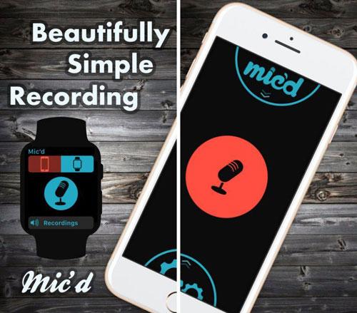 تطبيق Mic'd احترافي لتسجيل الأصوات