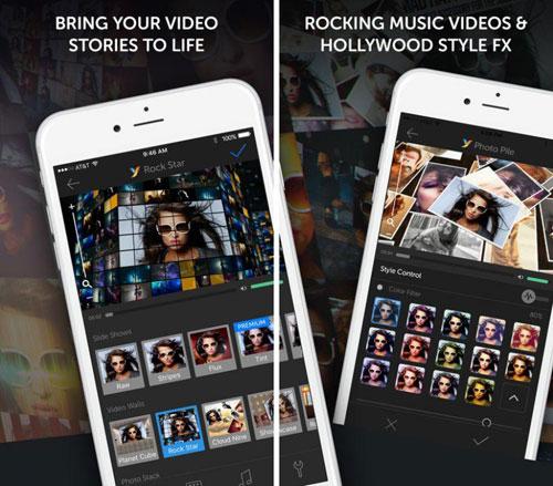 تطبيق YouStar لمونتاج الفيديو وتحريره