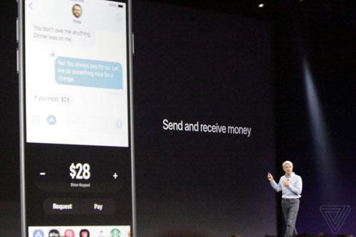 إرسال واستقبال مبالغ مالية من خلال خدمة Apple Pay
