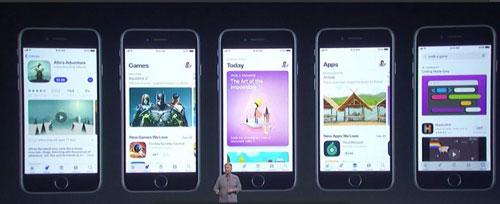 إعادة تصميم متجر التطبيقات Appe Store