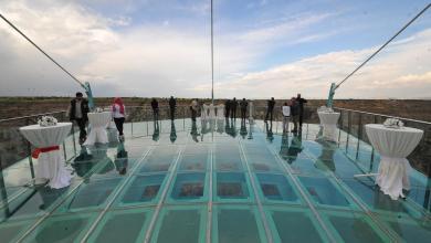 """أطول """"شُرفة"""" في تركيا.. تمتد على ساحل بحيرة تورتوم 3"""