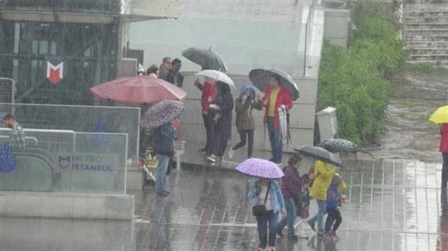 تحذير من الأرصاد الجوية لسكان اسطنبول 1