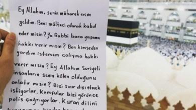 رسالة مؤثرة باللغة التركية من حاج سوري داخل البيت الحرام 3