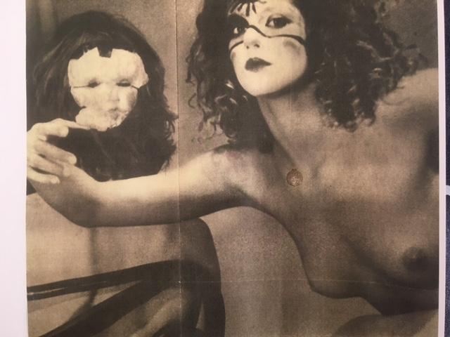 Fotografia di Rossella Or inPirandello chi?di Memè Perlini (1973) apparsa su L'Espresso